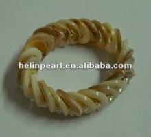 2012 natural fashion shell bracelet