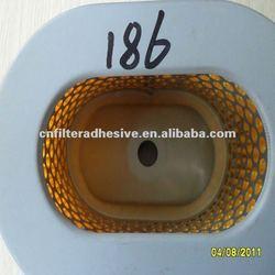 rigid polyurethane adhesive(bond of paper and iron cover)