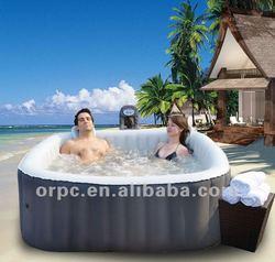 MSpa Inflatable & Portable Spa, 2 person hot tub ,Square Hot Tub Alpine B-090