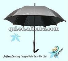 Double-color golf square rain umbrella