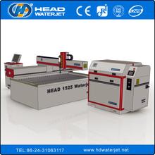 UHP high pressure 1500mm*2500mm CNC water jet glass cutting machine