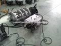 Hidráulico skc-b160h pe tubo de plástico de soldadura de fusión a tope la máquina