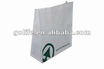 2012 high quality 100% recycle PET non-woven bags,eco-friendly non-woven shopping bags,promtional non-woven tote bags