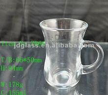 2012 166ml clear glassware/glass mug/glass cup