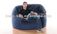 Giant Microsuede Beanbag Sofa