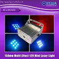 150mw classe iiib vermelho e verde remoto multi efeito ls-6 mini estágio de luz laser série