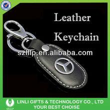 supply logo key chain car with 3D car logo