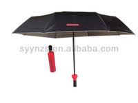 3-folding wine bottle umbrella