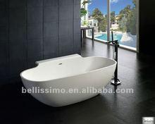 New Design Bathtub, Corian With Resin Bathtub BS-8607