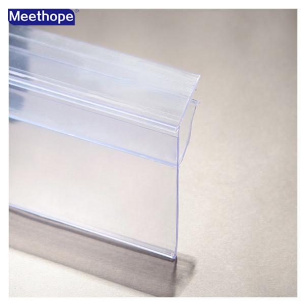 supermarket pvc glass shelf talker view shelf talker. Black Bedroom Furniture Sets. Home Design Ideas