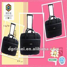 Business design trolley laptop case/laptop bag