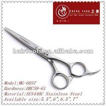 Convex edges design,classical japanese hairdressing scissors