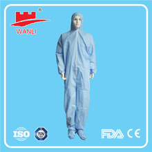 Disposable coverall suit/basic coverall