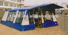 10-15 persons large canvas family tent