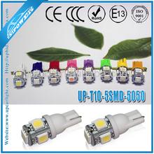 Top seller 12V or 24V T10 194 921 W5W 5smd 5050 LED bulb Signal light