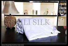 white silk comforter