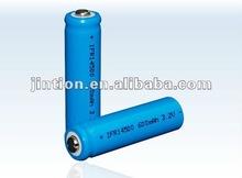 LiFePO4 14500 600mAh 3.2v Rechargeable Battery