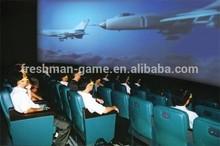 3D 4D 5D Movie simulator Cinema Theater hydraulic dynamic game machine