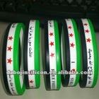 Syria flag bracelet for free syria