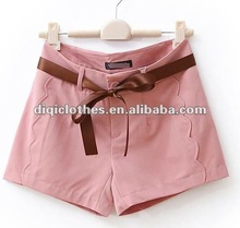 lady's short pants in 2012,lady's shorts