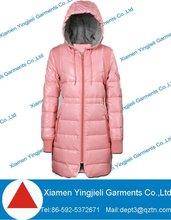 Long padding coat for women