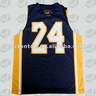 Sublimated reversible basketball jerseys