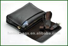 Geniune Leather Business outdoor Shoulder bag for men