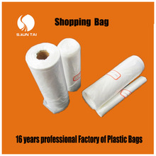 China manufacturer PE all kinds of plastic carry bags
