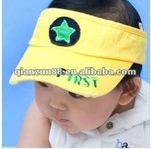 fashion baby sun visor hat and cap