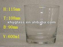 600ml Big Water Glass/Drinking Glass