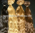 40 inch tangle free blonde hair extensions blonde brazilian hair weft