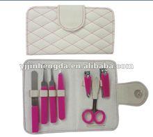 durable 7pcs silicon cover manicure set
