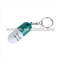 key chain pill box /medicine pack
