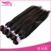 Top selling!!virgin brazilian straight hair bundles perfect quality hair for salon