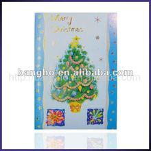 Handmade glitter christmas cards
