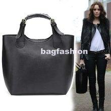 Vintage fashion PU Leather Celebrity Shopping Bag 2014