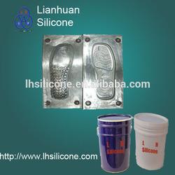 liquid Shoe soles silicone rubber RTV liquid silicone for shoe sole