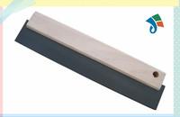 wooden handle wide rubber scraper