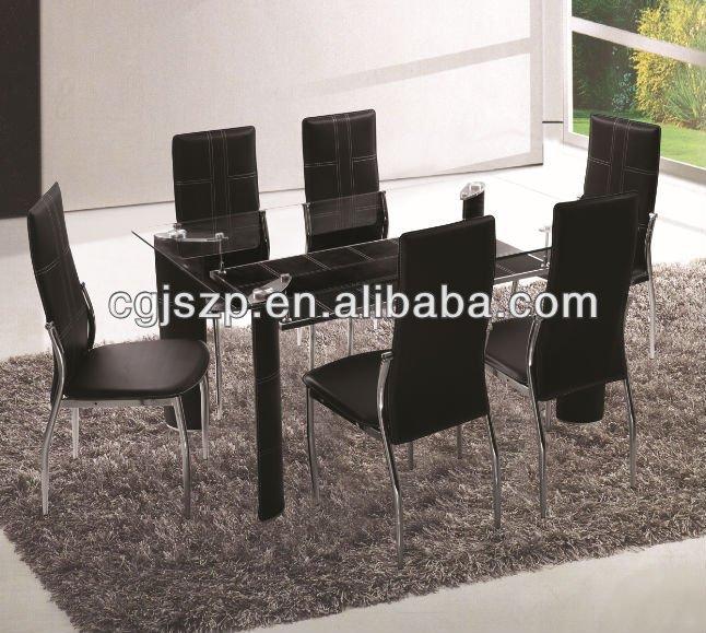 Caliente venta muebles del comedor moderna barato cristal - Muebles para comedor baratos ...