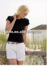 2012 women's semi-sheer casual slim t-shirts