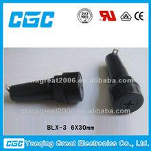 FUSE HOLDER BLX-3 6X30mm blade fuse holder