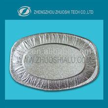 food packing aluminium foil tray /baking pan