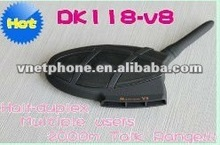 Newly 2000m Max Talk Range Wireless Bluetooth Multi-user Motorcycle Helmet Intercom, Novelty Bone Conduction Microphone