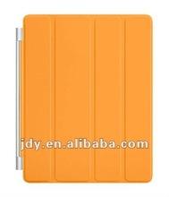 For orange PU ipad smart cover