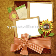 2014 hot sale 4x6 paper photo frame wholesale for photos showing in Brazil World Cup