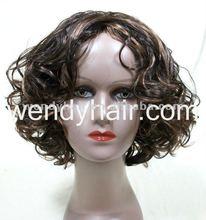Cute short curly wigs for black women