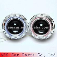 2013 Easy installation double angel eyes XENON projector for car headlight