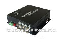 CCTV coaxial BNC to fiber optical video data audio converter