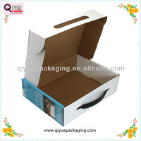 paper packaging box for electronic products,offset paper printing