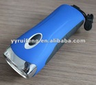 hand crank Rechargeable LED flashlight